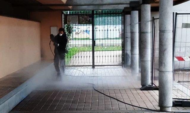 coronavirus albizzate sanificazione strade