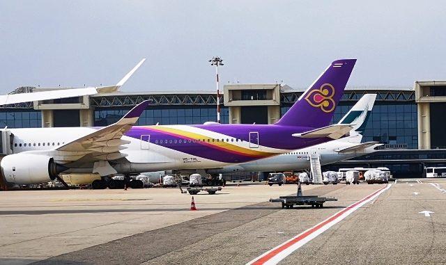 Thai Airways ritorno Malpensa