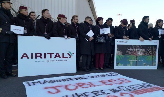 Malpensa Air Italy presidio
