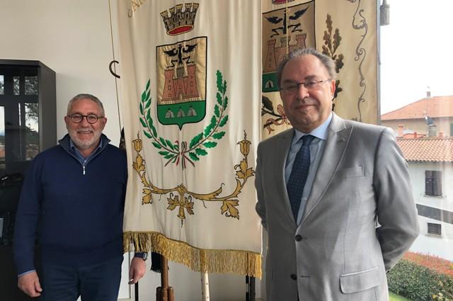 Maurizio Colombo e Vito Rosiello