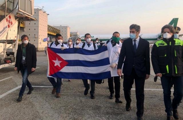Malpensa Lombardia medici cubani