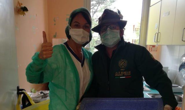 busto alpini medici infermieri coronavirus