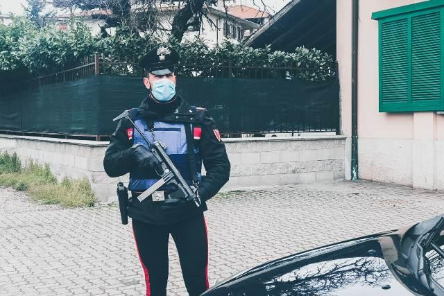 busto carabinieri esercito