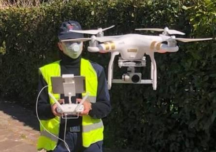 vanzaghello droni polizialocale controlli