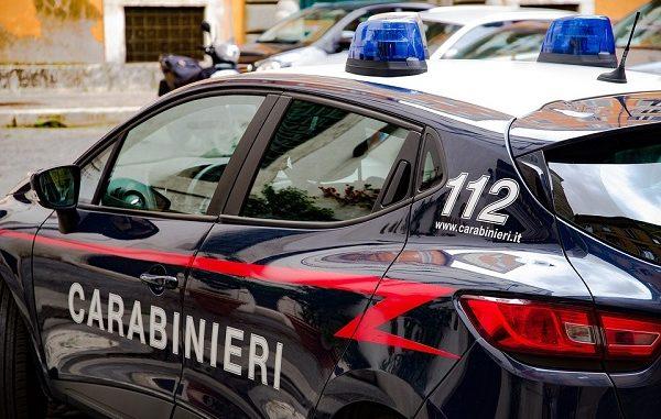 sumirago spari specchio carabinieri
