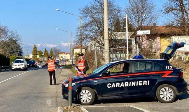 varese controlli covid carabinieri