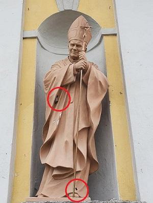 magnago vandali chiesa parroco