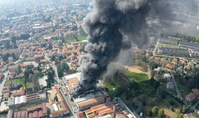 gallarate incendio