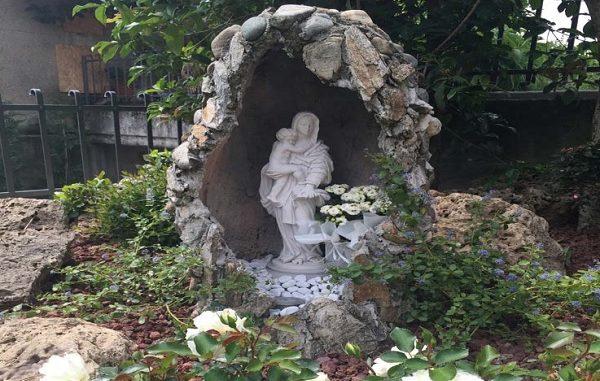 vanzaghello grotte madonna parrocchia