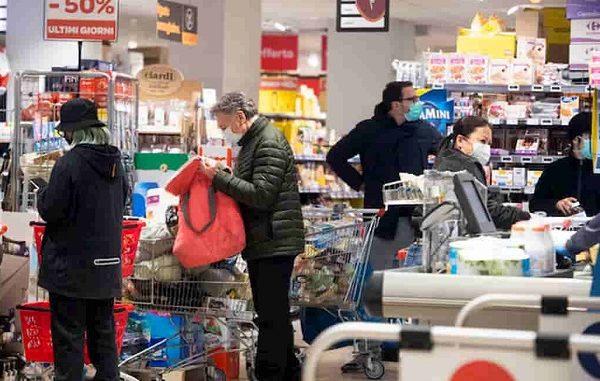 coronavirus dpcm supermercato comune