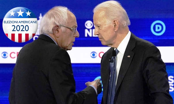Elezioni americane Biden Sanders