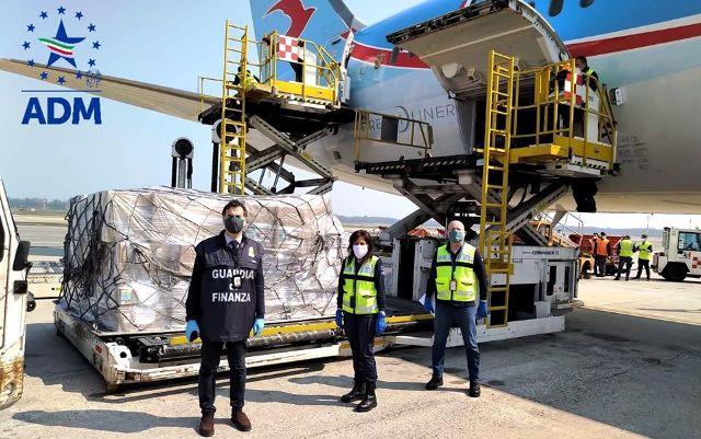 malpensa aiuti umanitari covid