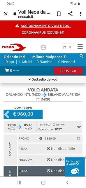 giovani italiani Disneyworld Florida
