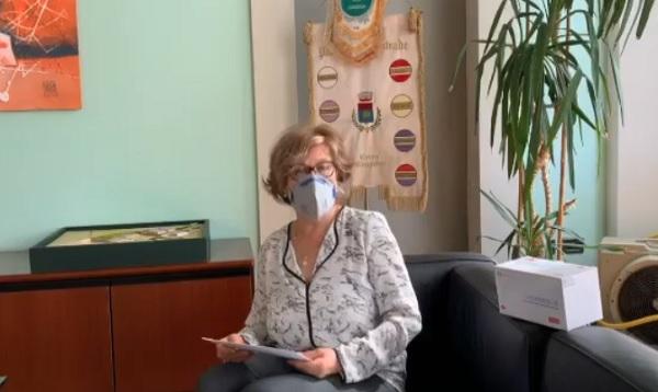 cerromaggiore mascherine distribuzione sindaco