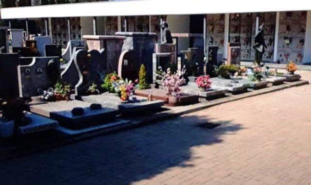 cimitero chiuso fiori cardano