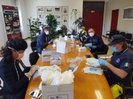 canegrate volontari protezionecivile diario