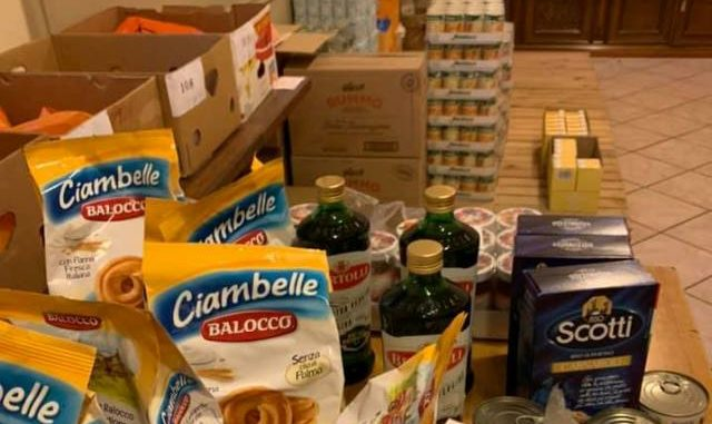 besnate imprenditori donazioni alimentari
