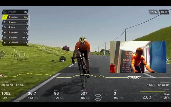 ciclismo fiandre virtuale
