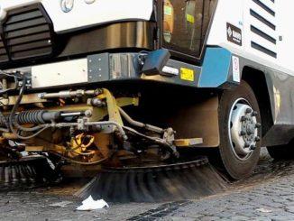 Gallarate pulizia straordinaria strade