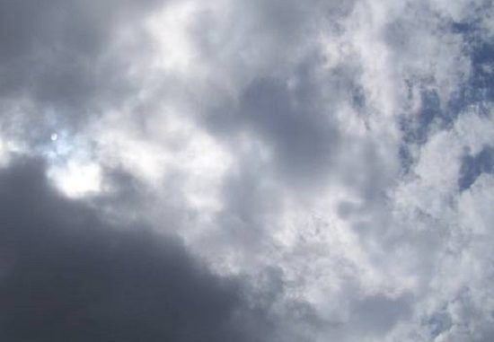 mediterraneo depressione nuvole piovaschi