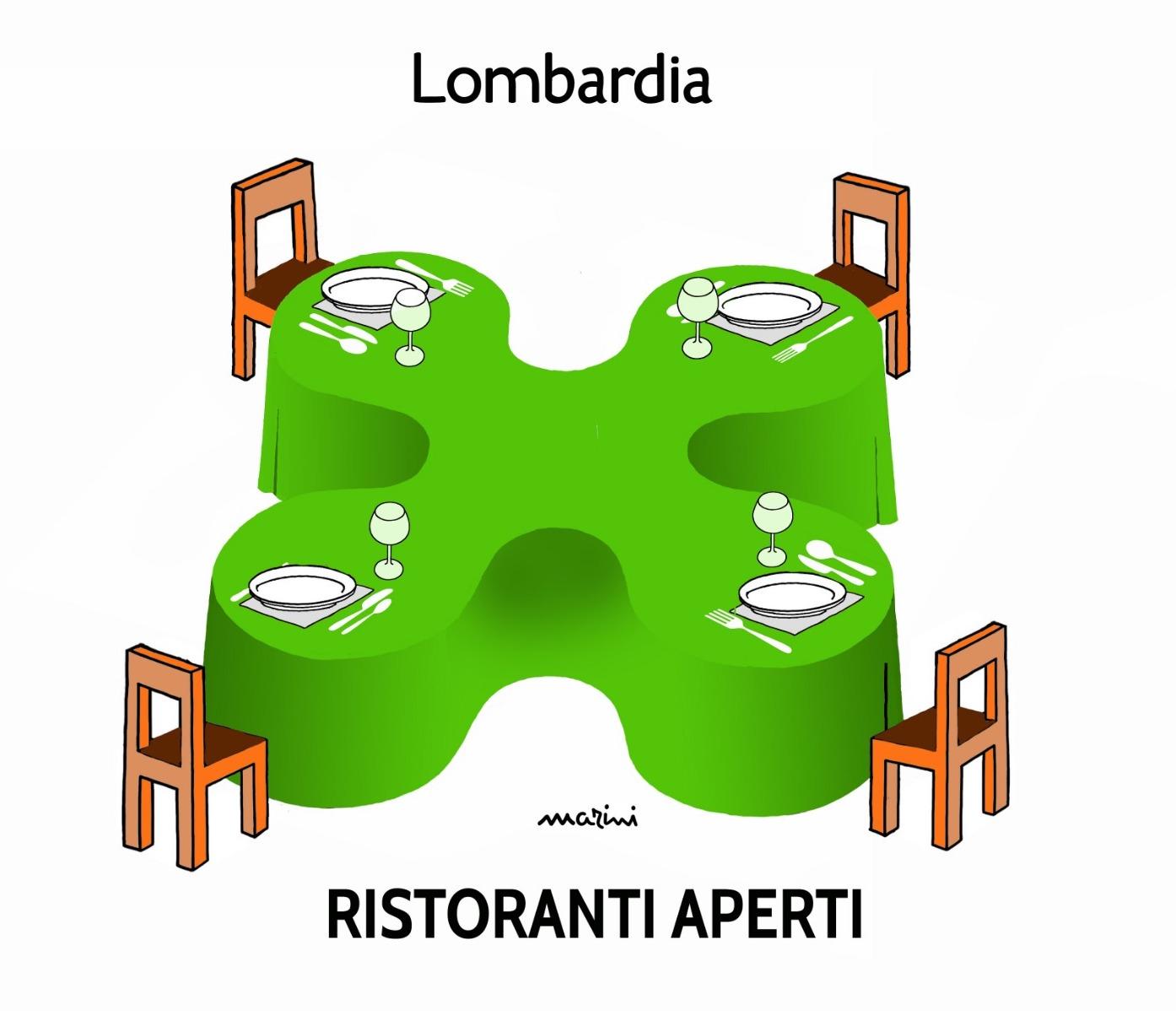 regione fase 2 ristoranti