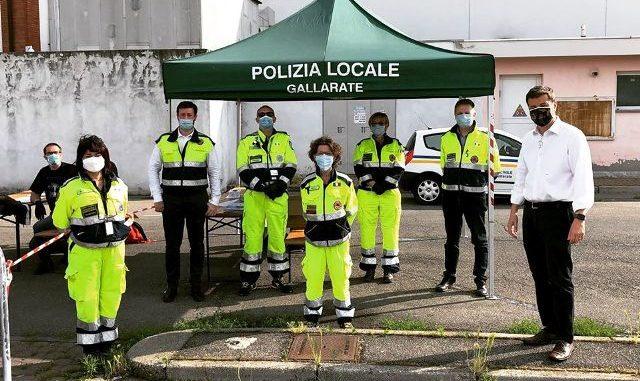mascherine protezione civile gallarate