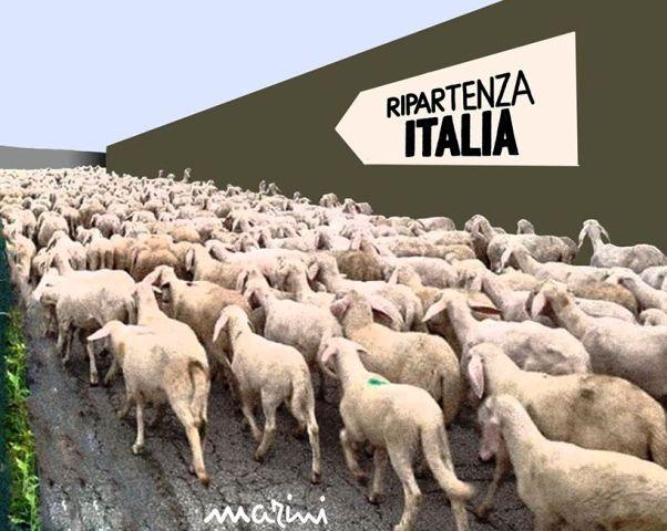 COVID ITALIA RIPARTE