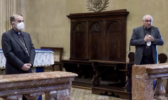 Arcivescovo Delpini santuario mezzana