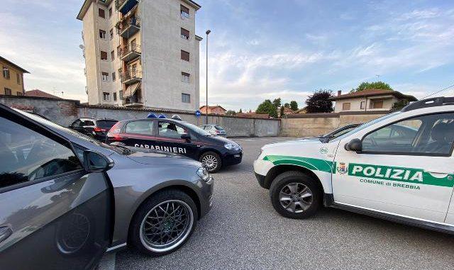 brebbia coca arrestato polizia