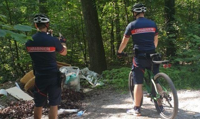 carabinieri mountain bike