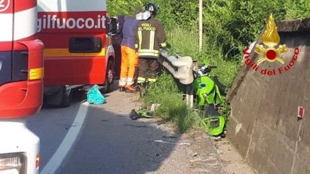 gavirate incidente muore motociclista
