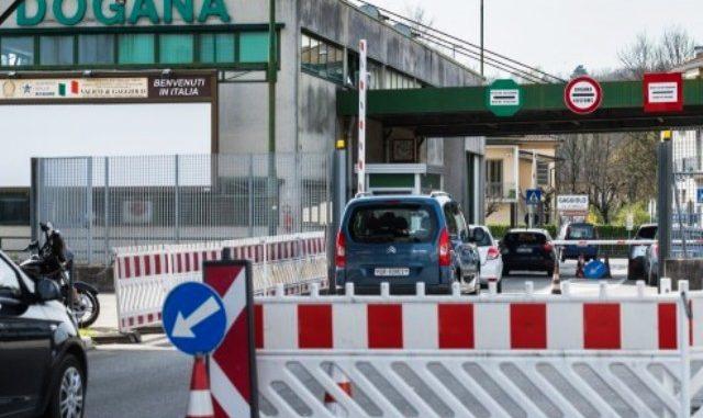 Frontiera italia svizzera alfieri