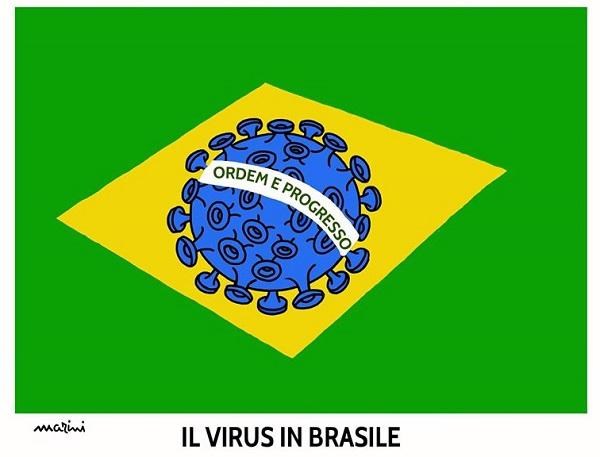 covid brasile morti
