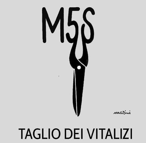 m5s taglio vitalizi