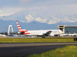 American Airlines luglio Malpensa