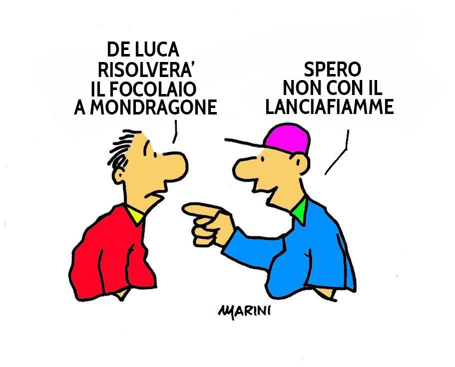 Vignetta Valerio marini