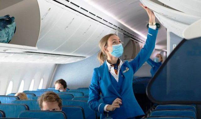 aereo distanziamento volo pieno