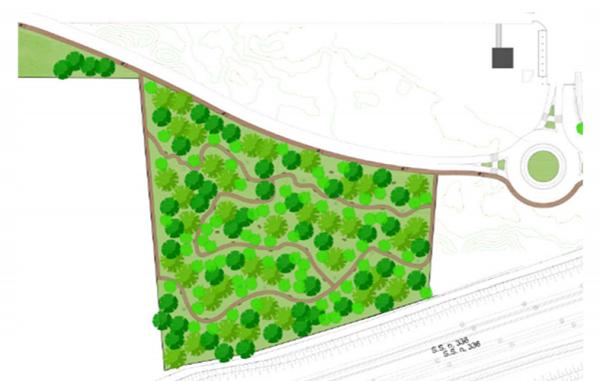 Malpensa bosco pista ciclopedonale