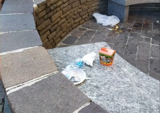 castanoprimo sindaco degrado rifiuti