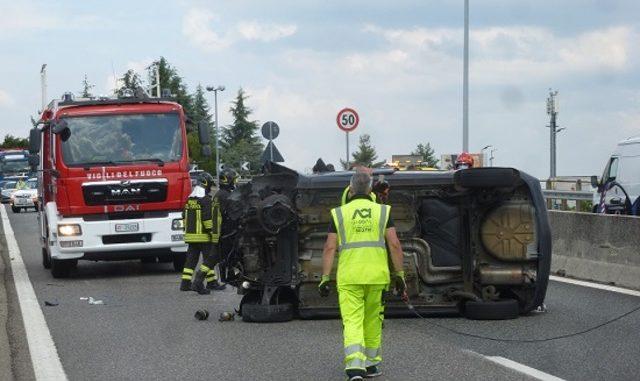 malpensa incidente 336 traffico