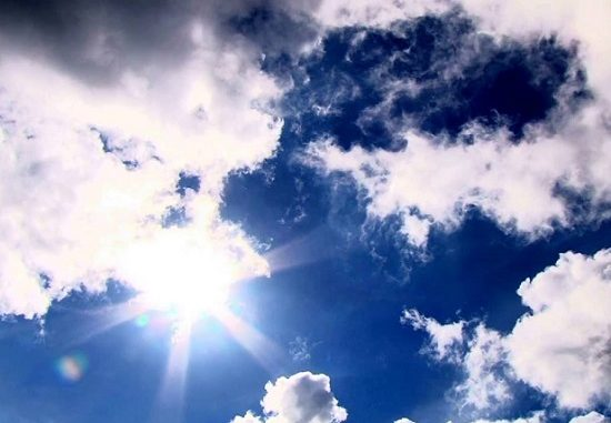 miglioramento temperatura nuvole pioggia