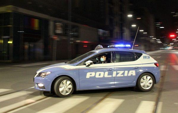 legnano aggressione giovane polizia
