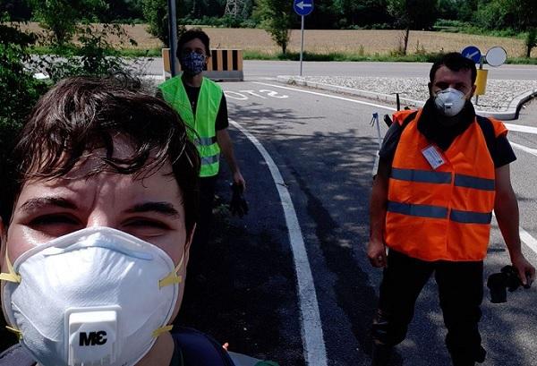 rescaldina camminata ecologica rifiuti