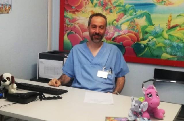 Valerio Gentilino, Direttore della Chirurgia pediatrica