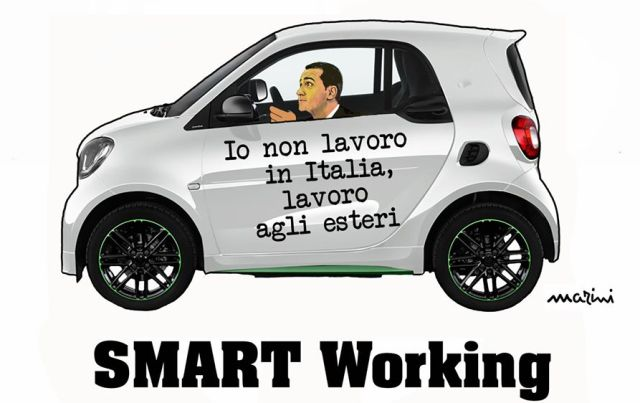 smart working di maio