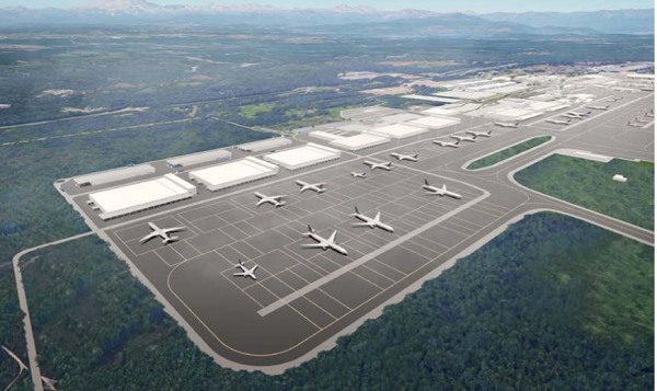 Malpensa Nuovo Masterplan quarto satellite