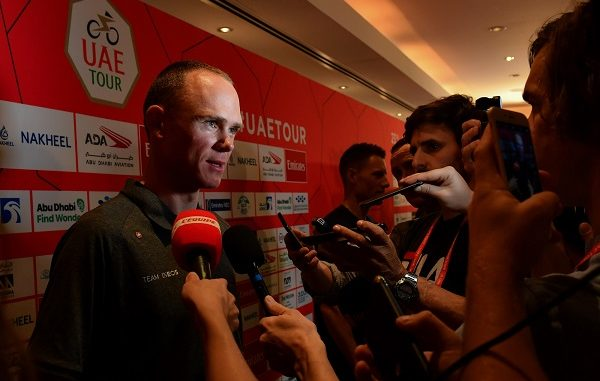 ciclismo froome team tour