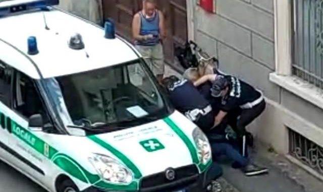 gallarate denuncia polizia locale