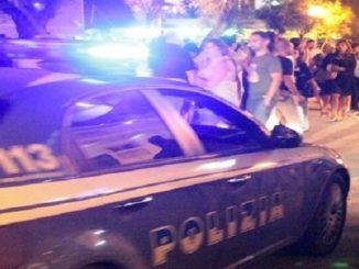 busto polizia movida ferito