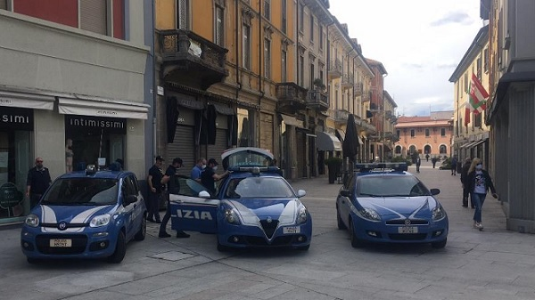 legnano polizia movida arresto